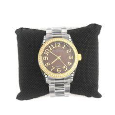 Rare Vintage Joan Rivers Couture Sport Brown Link Adjustable Watch 887J #JoanRivers #Fashion