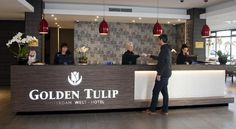 Only 1 km from Amsterdam Sloterdijk train station, and a 20-minute drive from Schiphol Airport, Golden Tulip Amsterdam West offers elegantly designed rooms with free WiFi. #Amsterdam #travel #hotel