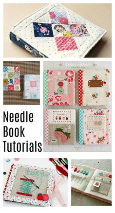 Sewing Gifts Handmade Needle Book tutorials - perfect gift for a friend who sews - Over 50 ideas for gifts to make or buy for Quilters and those who love sewing! Easy Sewing Projects, Sewing Projects For Beginners, Sewing Hacks, Sewing Tutorials, Sewing Crafts, Sewing Patterns, Sewing Kits, Sewing Ideas, Tatting Patterns