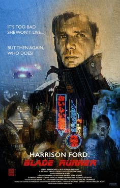 """russellwalks: """" So, you tell me: Regardless of what Ridley Scott says, IS Deckard a replicant? #blade runner"""