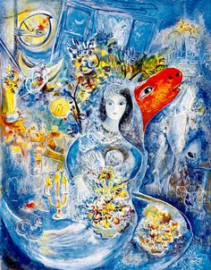 Marc Chagall - Bella (lithograph)
