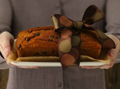 Gather everyone around the table to enjoy this moist and delicious pumpkin bread. Made with no nuts, no dairy, no eggs, and no gluten--no kidding!