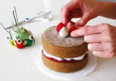 Felt food by Milkfly on Etsy