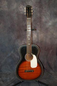 vintage Stella guitar