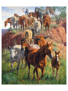 Ladies First Giclee Print by Jack Sorenson at Art.com