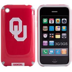 iFanatic Oklahoma Sooners iPhone 3G/3GS HELMETZ Hard Case