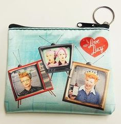 I Love Lucy TVs Key Chain and Coin Purse