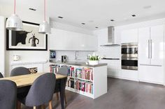 London Mew House - contemporary - Kitchen - London - Turner Pocock