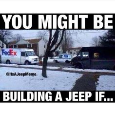 No lie.... this has happened to us.... 2 UPS trucks at one time pull up next to our driveway!