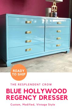 Traditional Buffet Custom Lacquer INCLUDED FREE SHIPPING