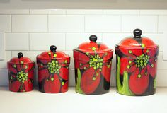 Canisters Kitchen Canisters Kitchen Canister Set Ceramic