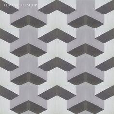 Cement Tile Shop - Encaustic Cement Tile | Harlequin III