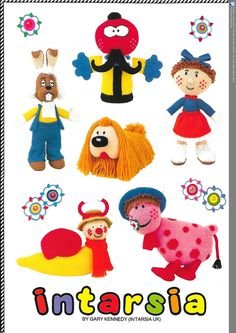 Check out this item in my Etsy shop https://www.etsy.com/uk/listing/271618319/the-magic-roundabout-knitting-pattern