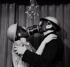A Christmas Kiss - London, 1941.
