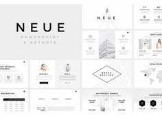 Win business and change minds with these minimal presentation templates ideal for social media, marketing, investments, branding, e-learning, education, non-profit, tech, advertising, new media, web or mobile, venture capital, creative, or general business.