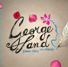 """Dîner spectacle - George Sand """"Femme d'hier et de demain"""", Le Skarabet, les 6, 7, 13, 14, 20, 27 et 28 Novembre 2015 à 19h30."""
