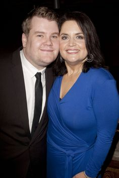 James Corden and Ruth Jones a.k.a. Smithy and Nessa