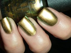 Fashion Polish-Just Spotted The Lizard from OPI. I've been drooling over this color for ages! EDIT-it's mine!