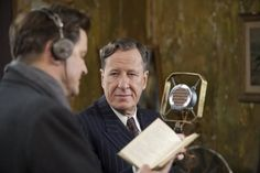 Colin Firth and Geoffrey Rush read.