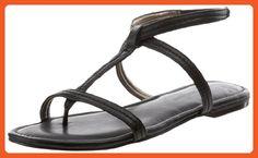 HK by Heidi Klum Women's Marly Ankle-Strap Sandal,Black,8.5 M US (38.5 M EU) - Sandals for women (*Amazon Partner-Link)