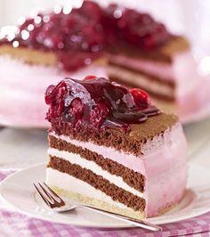 Himbeer-Joghurt-Torte (oetker)
