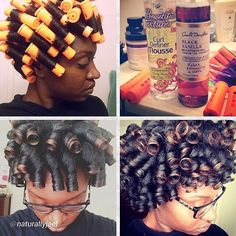 Perm Rods & Natural Hair: Which Size Will Create Your Desired Look? Perm rod sets or cold wave rod s Natural Hair Inspiration, Natural Hair Tips, Natural Hair Journey, Natural Hair Styles, Roller Set Natural Hair, Natural Perm, Natural Girls, Going Natural, Perm Rod Set