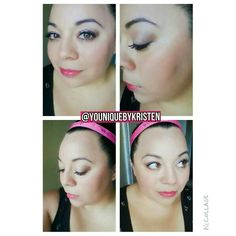 Younique eyeshadow and liners. Check me out on instagr Amam