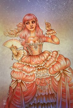 rococo by CourtneyTrowbridge on deviantART