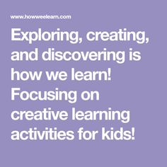Home – How Wee Learn Exploring, creating, and discovering is how we learn! Focusing on creative learning activities for kids! 3 Year Old Activities, Quiet Time Activities, Toddler Learning Activities, Alphabet Activities, Preschool Activities, Preschool Art, Teaching Letter Recognition, Teaching Letters, Best Playdough Recipe