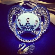 Bejeweled pacifier