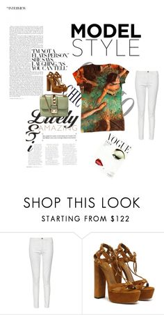 """""""Doing it Spring Style!"""" by yizzam ❤ liked on Polyvore featuring French Connection and Valentino"""