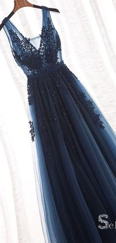 Blue Lace Appliques V Neck See Through Backless Long Prom Dresses Formal Dr Navy Blue Lace Appliques V Neck See Through Backless Long Prom Dresses Formal Dr. -Navy Blue Lace Appliques V Neck See Through Backless Long Prom Dresses Formal Dr. Tulle Prom Dress, Prom Dresses Blue, Women's Dresses, Prom Gowns, Backless Dresses, Long Dresses, Homecoming Dresses, Fashion Dresses, Flapper Dresses