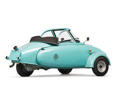 Microcar Jurisch Motoplan Prototype 1957 - 2 by Fine Cars, via sport cars cars vs lamborghini sports cars Luxury Sports Cars, Sport Cars, Bmw Isetta 300, Bike Motor, Mini Car, Auto Retro, Unique Cars, Cute Cars, Jet Ski