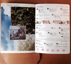 "toowitches: ""January's journal pages see more """