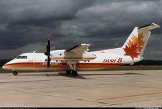 De Havilland Canada De Havilland Canada DHC-8-102 Dash 8  Nuremberg (NUE / EDDN) Germany, June 13, 1985