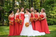 Onsite wedding hairstylist, southern maine wedding, golf course wedding