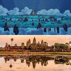 ¿Cómo representar una ciudad mitológica que nunca nadie conoció? Los creativos de Disney imaginaron ... - ELLE.es