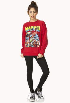 Marvel Heroes Sweatshirt | FOREVER21 - 2000073869