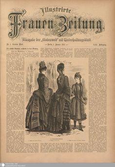 9 - Nr. 1. - Illustrierte Frauenzeitung - Seite - Digitale Sammlungen - Digitale Sammlungen