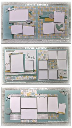Kit Cutting Guides Created by Tina Lovell To help make your job faster, simpler and easier, I have made my Scrapbook Kit cu. Scrapbook Kit, Baby Scrapbook Pages, Baby Boy Scrapbook, Birthday Scrapbook, Scrapbook Templates, Scrapbook Designs, Wedding Scrapbook, Disney Scrapbook, Scrapbook Paper Crafts