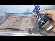 Homemade Mini Laser Engraving Plotter Frame Cutter Printer USB Machine ...