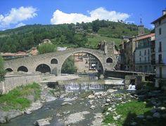 Lugares, sitios de interés y pueblos con encanto de Catalunya.: Camprodón (Girona)