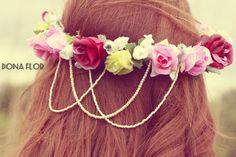 Coroa de flores da Dona Flor