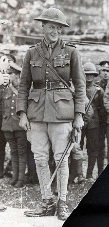 EDWARD VIII/THE DUKE OF WINDSOR during WWI - a war that wiped out much of his generation of men and irrevocably changed the social structure in England. He went into the war with the German last name Saxe-Coburg-Gotha and came out with the last name Windsor due a wise PR move by his father in 1917.