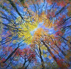 Beautiful quilt art
