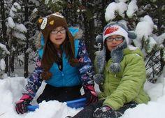 Snow Sledding Hills in Indianapolis