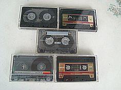 AUDIO    Cassetten    5 Stück