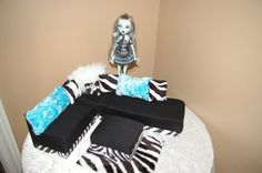 Monster high furniture by DorrDesigns on Etsy, $39.99