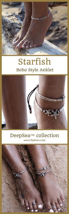 Starfish Boho Style Anklet - DeepSea™