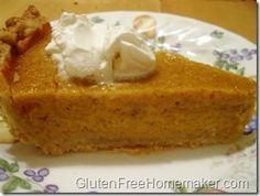 Gluten-Free Thanksgiving Recipes Roundup, glutenfreehomemaker.com